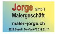 Jorge GmbH, Malergeschäft, Boswil