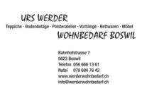 Urs Werder, Wohnbedarf, Boswil